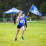 Cross country finish